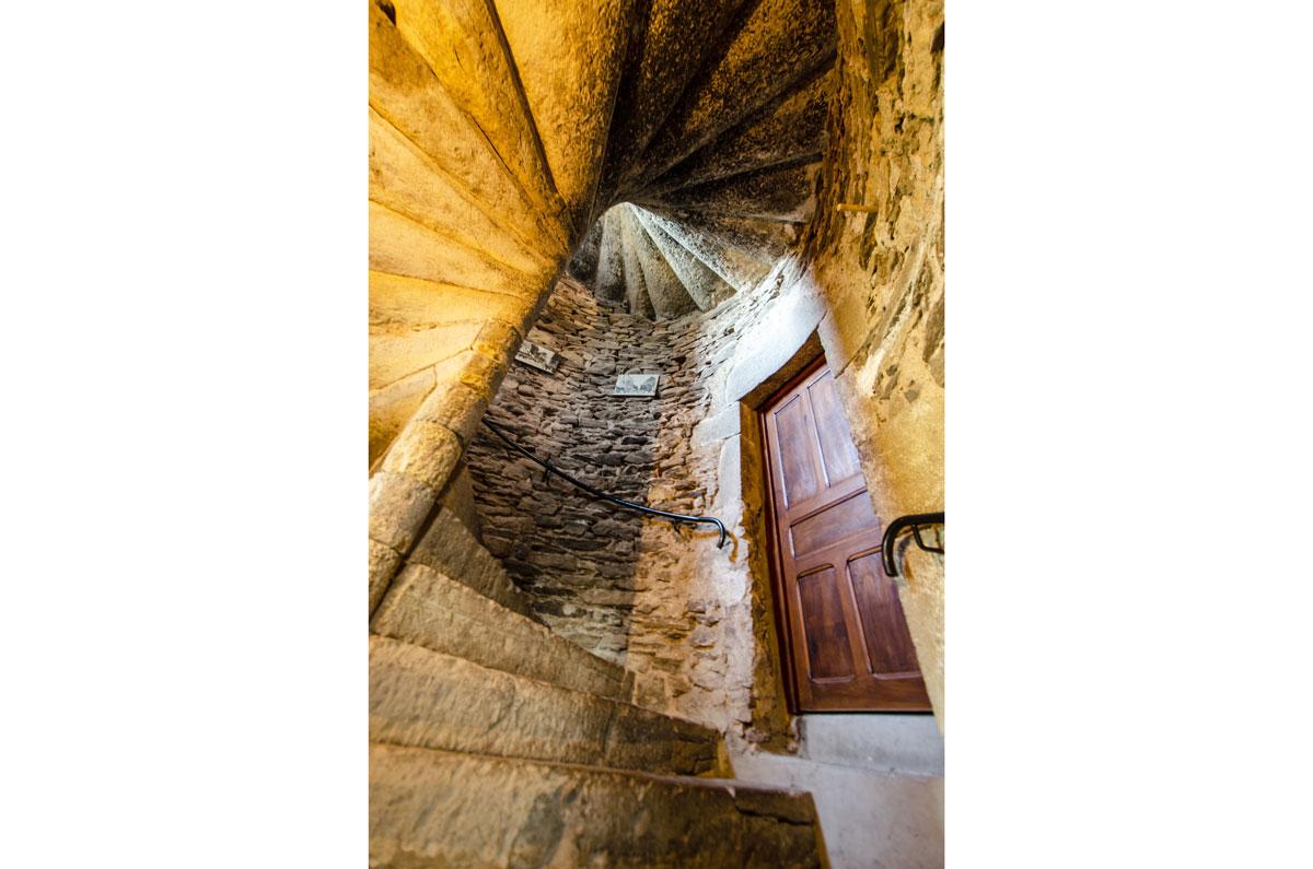 Intérieur Gîte Escalier