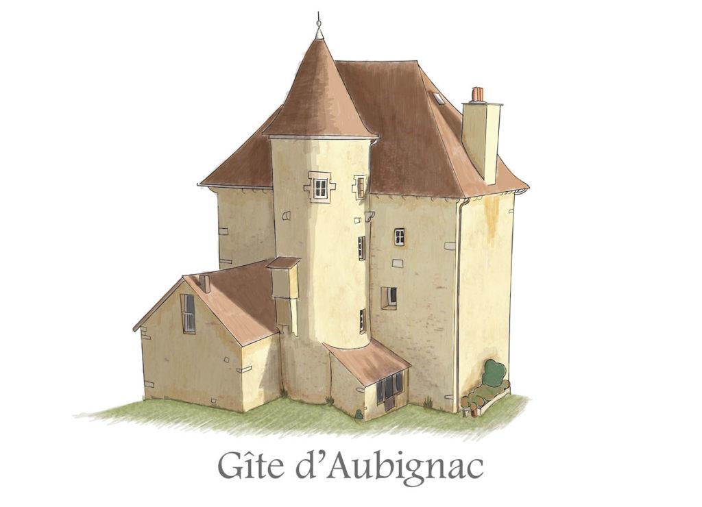 Illustration Gîte d'Aubignac